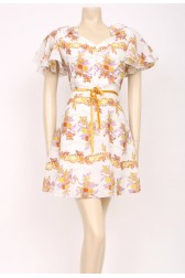 Frill Posey Dress