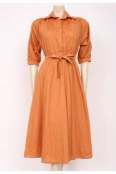 Ginger Cotton Dress