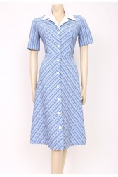 Mod Striped Dress