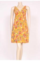 Modernist Print Sun Dress
