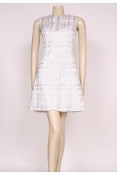 Silver Mod Dress