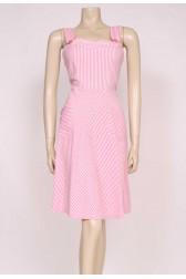 Stripes Pink Sun Dress
