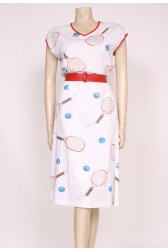 Tennis Print Dress