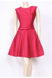Bow Flared 60's Dress