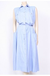 80's Denim Day Dress