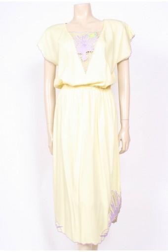 Lemon Fish Sun Dress