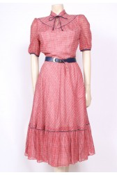 Red Betty Barclay Dress