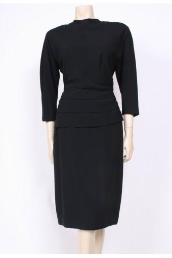 Layer Sparkled 1940's Dress