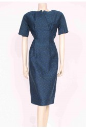 Structured 50's Wiggle Dress