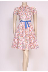 Cute Flowers 60's Dress