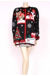 Window Christmas Knit