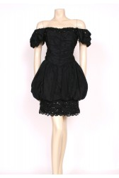 Lace, Sequins & Puffball Dress
