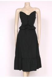 Strapless 70's Dress