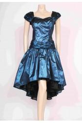 Shiny Blue Party Dress