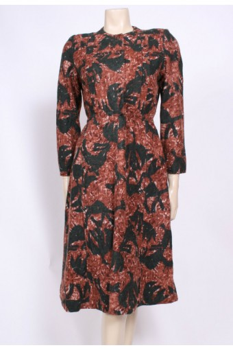 Soft Angora Winter Dress