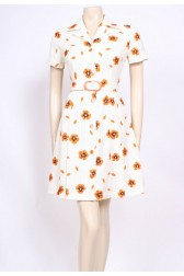 Orange Poppy Mod Dress