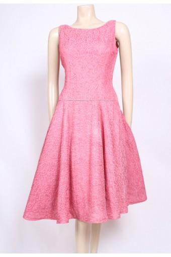 Pink Lace 50's Dress