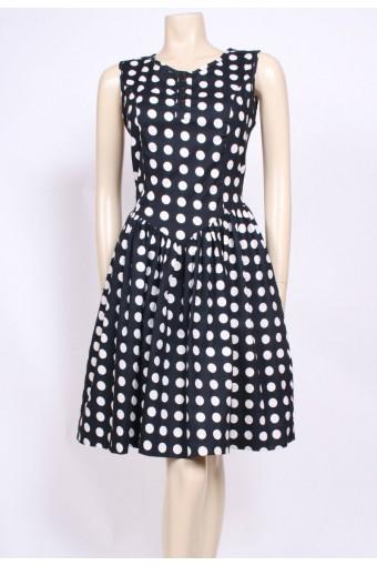 Cotton Spotty Dress
