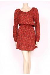 Rusty Tan Easy Wear Mini Dress