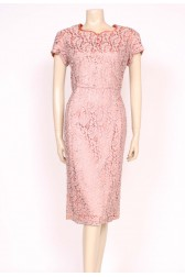 Amazing Guipure Lace 50's Dress