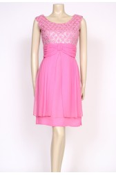 Pink 1960's cocktail dress