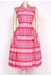 1950's jumbo pockets dress