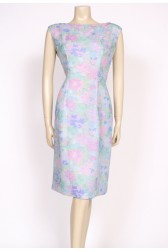 60's pastel shift dress