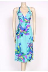 70's halterneck sun dress