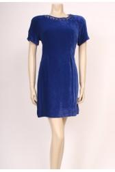 Blue Velvet 50's Dress