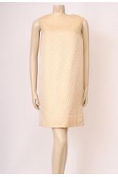 Gold 60's Box Dress