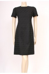 Black 60's Shift Dress