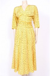 Yellow Polkadots Dress