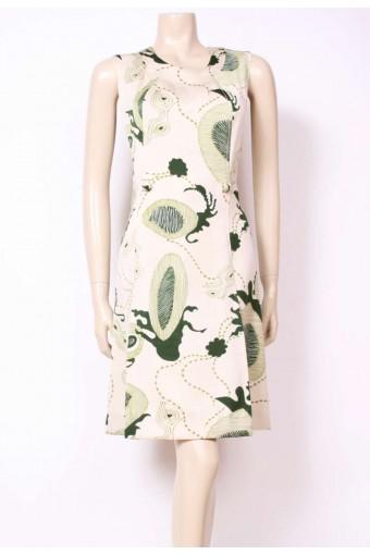 Green Dream Mod Dress