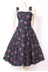 80's Cherry Dress