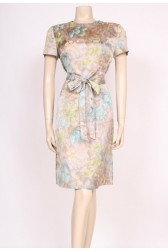 Watercolour 50's Dress