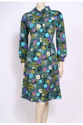 All The Greens 70's Dress