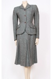 Early 1950's Hebe Sports Skirt Suit