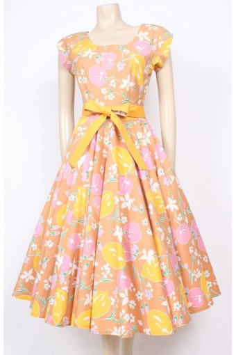Horrockses Lemons & Cherries Dress