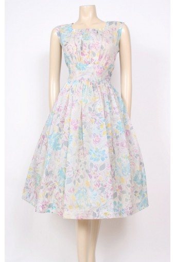 Spring Nylon 50's Dress