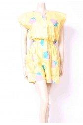 Lemon Pockets Playsuit