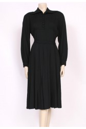 Belted 40's Day Dress