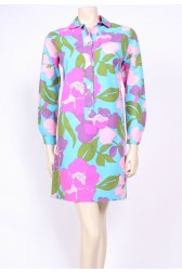 Big Print Shirt Dress