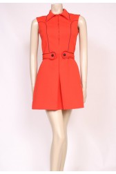 Ace Red Mod Dress