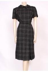 wool 50's Dress