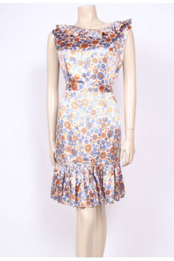 Frill Top 60's Dress