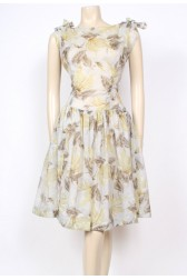 Nylon 50's Bow Top Dress