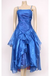 80's Blue Party Dress