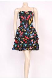 Spotty Floral Ra-Ra Dress