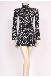 90's Naf Naf Spotty Mini Dress