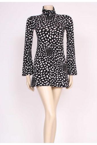 90's Naf Naf Spotty Mini Dress